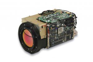 caméra infrarouge refroidie