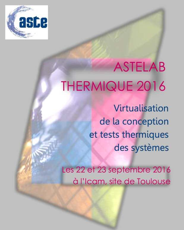 SALON ASTELAB THERMOCONCEPT THERMOGRAPHIE INFRAROUGE CND