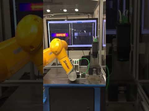Système robotisé de détection automatique de fissures par thermographie par induction