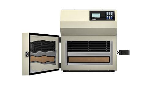 HFM-100 : fermeture système pour mesure conductivité thermique des isolants