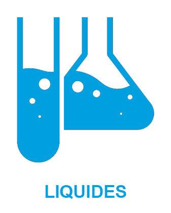 Icône représentant des liquides