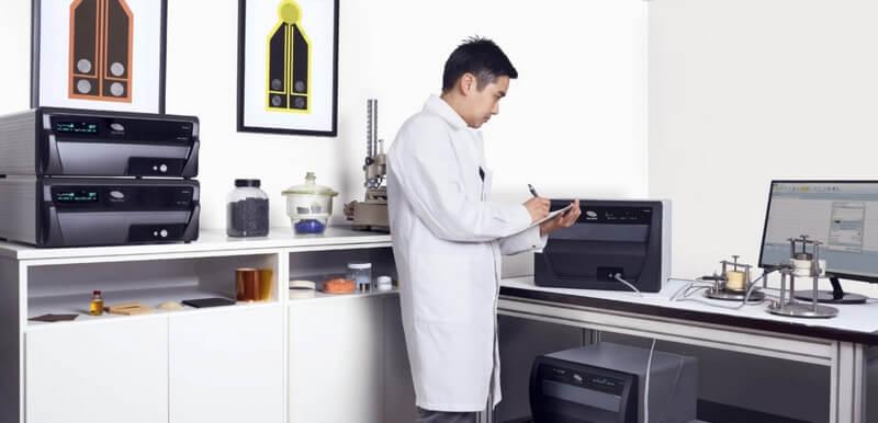 Laboratoire de mesure de la conductivité thermique