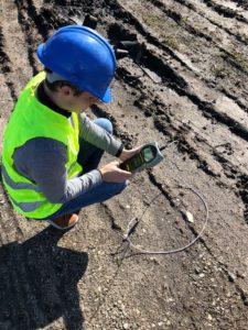 Conductivité thermique des sols secs et humides