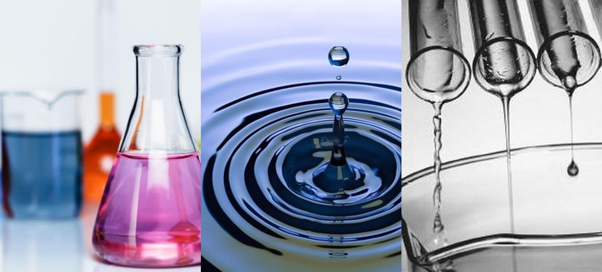 Conductivité thermique de différents liquides