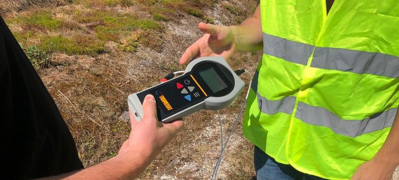 Location TLS-100 | Louez l'appareil et mesurez la conductivité thermique de vos sols