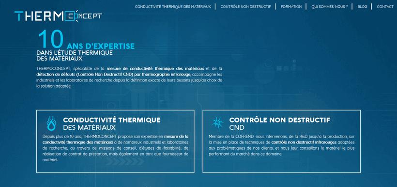 Thermoconcept fait peau neuve : contenus techniques et spécialisation en conductivité thermique