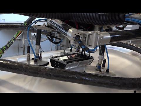 Lufthansa : contrôle complètement automatisé de rivets sur fuselage d'avion en aluminium