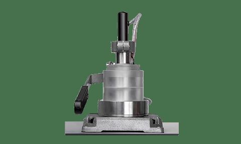 GHFM-02 : mise en place échantillon pour mesure conductivité thermique des solides