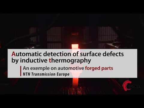 Ligne de contrôle automatique par thermo-induction
