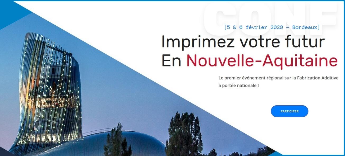 Imprimez votre futur en Nouvelle-Aquitaine