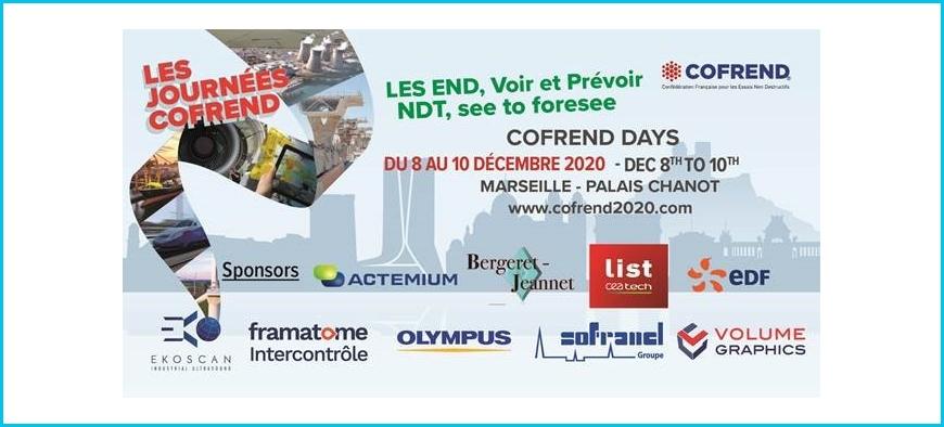 [ANNULÉ] Journées COFREND MARSEILLE 2020 : l'événement incontournable de tous les acteurs et professionnels en END