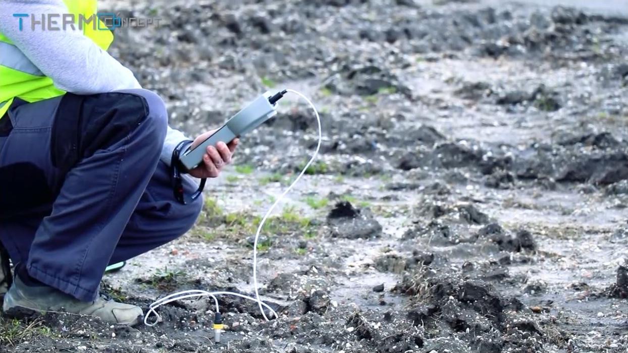 Conductivité thermique des sols, roches et bétons