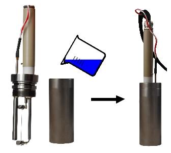 Sonde de mesure conductivité thermique liquides