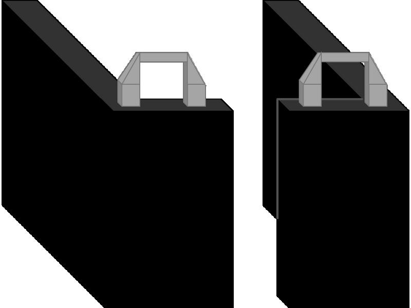 Portes d'isolation