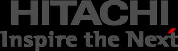 Logo Hitachi - 350x100px