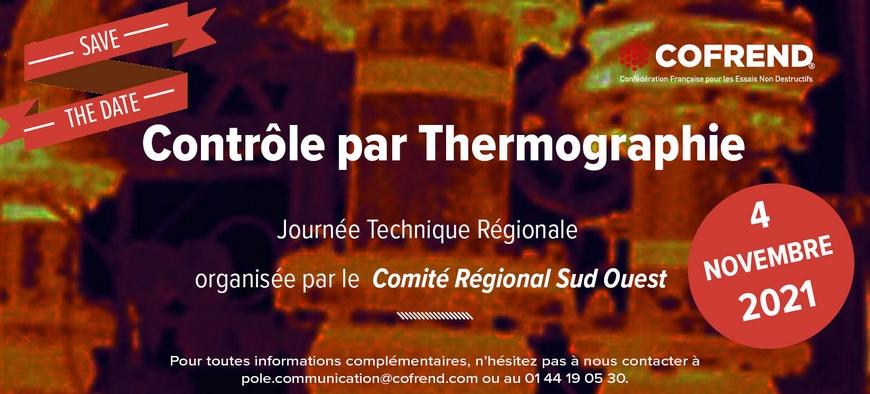 Journée Technique Régionale COFREND «Le Contrôle par Thermographie»